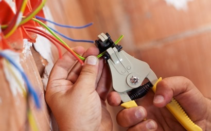 services wire installation