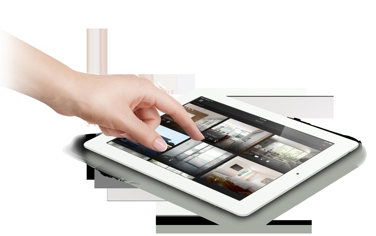 user interface ipad