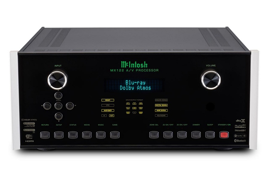 McIntosh Labs' Latest Model Offers Dolby Atmos, Wireless Sound