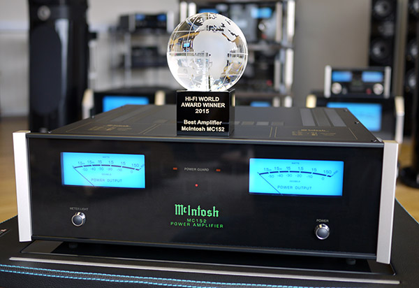 McIntosh MC152 Stereo Amplifier Named Best of 2015