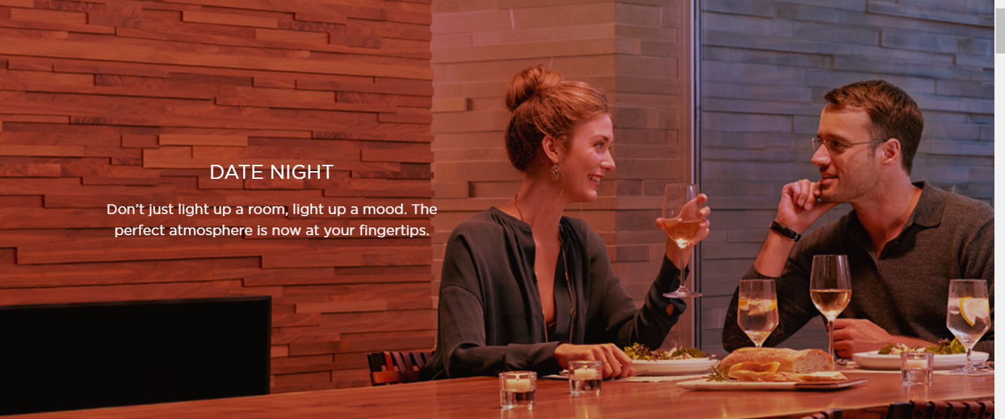 Set your rooms aglow with Savant and your iOS device
